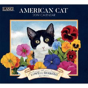 2019ラングカレンダー American Cat|pp-koshidou