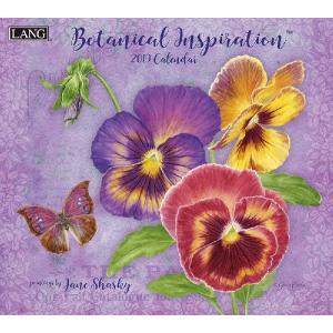 2019ラングカレンダー Botanical Inspiration|pp-koshidou