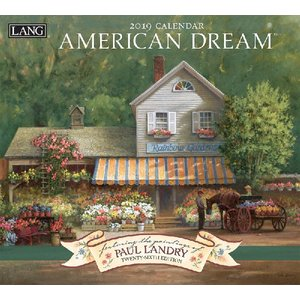 2019ラングカレンダー American Dream|pp-koshidou