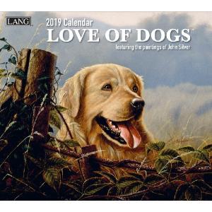 2019ラングカレンダー Love of Dogs|pp-koshidou