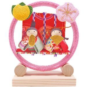 季節の輪飾り お雛様|pp-koshidou