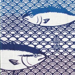 ケネマ手拭い「出世魚」|pp-koshidou