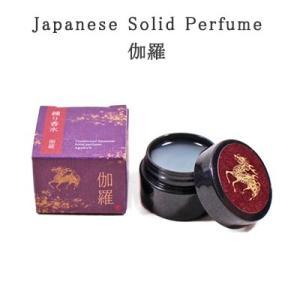 Japanese Solid Perfume 伽羅|pp-koshidou