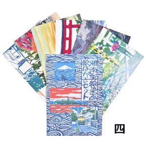 丸山晶子ポストカードセット その四 pp-koshidou