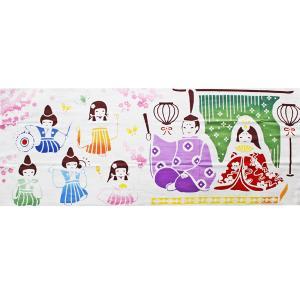 ケネマ手拭い 桃の宴席|pp-koshidou
