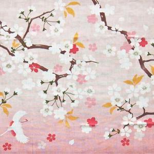 濱文様 絵てぬぐい 祝桜|pp-koshidou