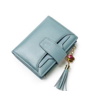 ヘッド層牛革レディース財布財布レディース2018新製品レザーマルチカードパーソナライズマルチ機能カード財布|ppap191919