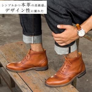 カントリーブーツ メンズ ビジネスシューズ 本革 マーティンブーツ   革靴 ウイングチップ ファッション 防滑 ppap191919