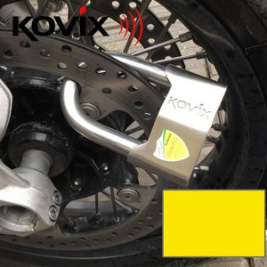 KOVIX 掛け錠 小さい U字ロック コンパクト 盗難防止 鍵 ロック バイク オートバイ ロード...