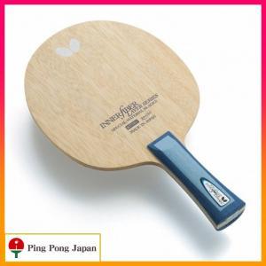 柔らかい打球感を備えたバランスの良いモデル 木材の柔らかい打球感を備えたインナーファイバー仕様のラケ...