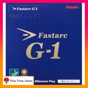 ファスタークG-1 スピンドライブ重視! シートでグリップして弧を描く、強烈なスピン! どんな位置か...