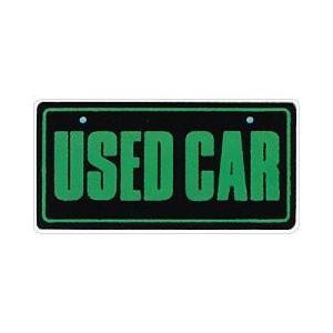 【5枚以上から】18-115 ナンバープレート エコ製(ABS樹脂)USEDCAR※5枚以上から販売|pr-youhin