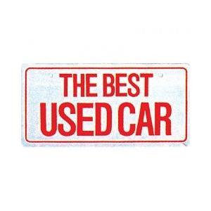 【5枚以上から】18-117 ナンバープレート エコ製(ABS樹脂)THEBEST USEDCAR※5枚以上から販売|pr-youhin