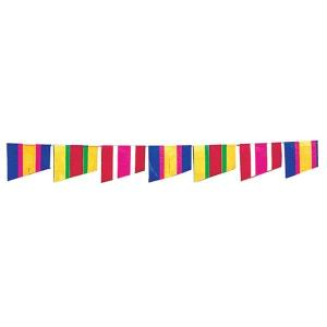 【2個から販売】73-114 連続旗「カラフルライン」全長10m / アソートOK【車販売・展示会場】|pr-youhin