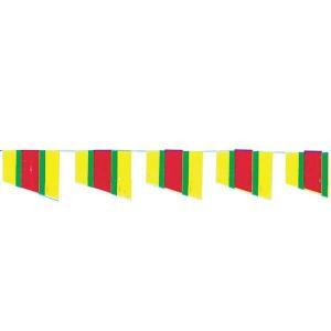 【2個から販売】73-116 連続旗「ペナント旗ストライプ」全長10m / アソートOK【車販売・展示会場】|pr-youhin