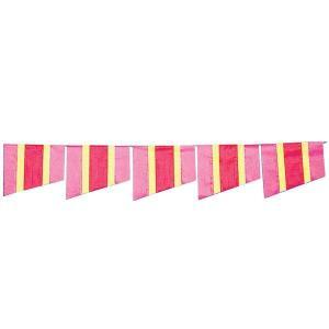 【2個から販売】73-128 連続旗「ストライプ旗」全長10m / アソートOK【車販売・展示会場】|pr-youhin