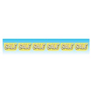 【2個から販売】73-302 連続旗「セール黄」全長10m / アソートOK【車販売・展示会場】|pr-youhin