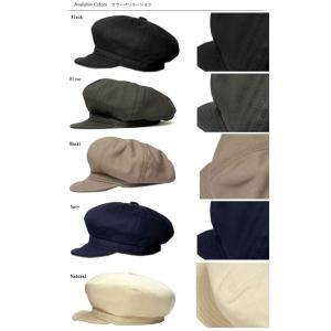 ニューヨークハット New York Hat  キャスケット  6216 CANVAS SPITFIRE  Black Olive Khaki Navy Natural|prast|04