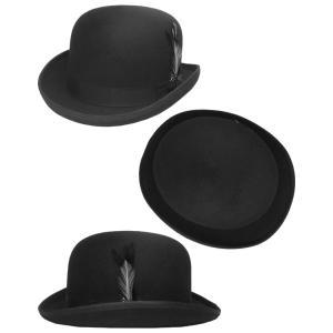 Bailey ベイリー Hollywood Series 帽子 フェルトダービーハット 3816 DERBY Black|prast|02