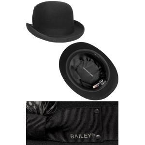 Bailey ベイリー Hollywood Series 帽子 フェルトダービーハット 3816 DERBY Black|prast|03