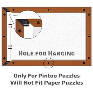 Pintoo W1033 当社パズル専用 プラスチック製フレーム 1000ピース対応 - ローズウッド|praticopratico