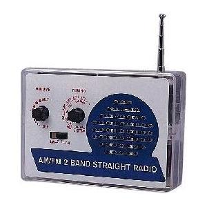 電子工作キット AM/FM 2バンド ストレートラジオ|praticopratico