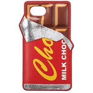 iDress iPhone8 iPhone7 バックカバー アメリカンデリ チョコレート iP7-CH07 (チョコレート iPhone7対応)|praticopratico