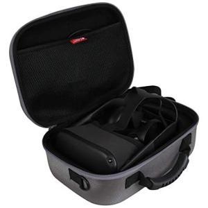 Oculus Quest (オキュラス クエスト)VR 眼鏡専用保護収納ケース-Hermitshell (グレー) (グレー) praticopratico