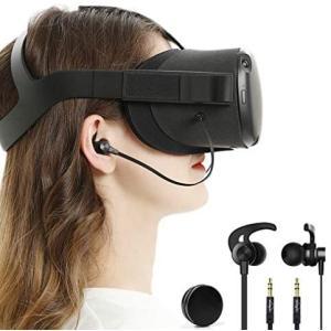 Oculus Quest オキュラス クエスト インイヤーヘッドホン praticopratico