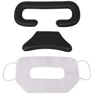 HTC Vive Pro用 クッション セット ( フェイス / バックヘッド )使い捨てカバー付 VR ヘッドセット praticopratico