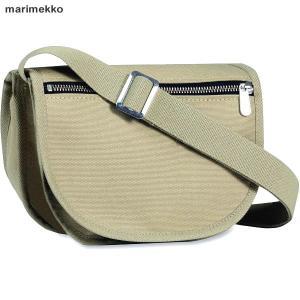 マリメッコ marimekko Kerttu ショルダーバッグ/クロスボディ  045164 555/ベージュ|pre-ma