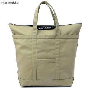 マリメッコ marimekko Uusi Matkuri トートバッグ キャンバス  045165 555/ベージュ|pre-ma