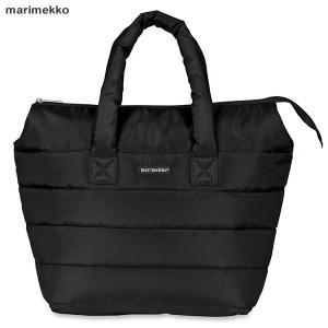 マリメッコ marimekko Uusi Matkuri トートバッグ Milla bag キルティング 045492 009/ブラック|pre-ma