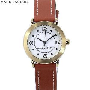 【アウトレット訳あり】マークジェイコブス レディース腕時計 MJ1576 Riley 28mm ゴールド/ブラウンレザー|pre-ma