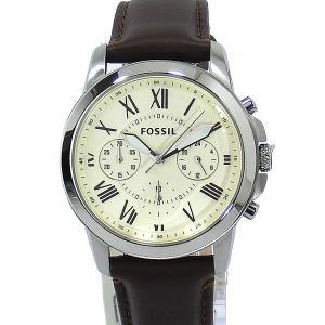 フォッシル メンズ 腕時計 FOSSIL グラント FS4839 クロノグラフ 【アウトレット】|pre-ma