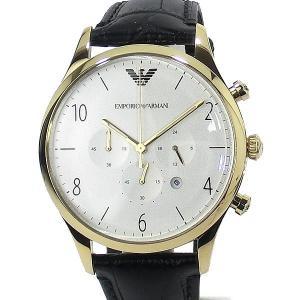 エンポリオ アルマーニ  メンズ 腕時計 AR1892 クロノグラフ EMPORIO ARMANI  レザー 43mm【アウトレット展示品】|pre-ma