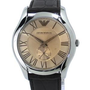 【アウトレット訳あり】エンポリオ アルマーニ  EMPORIO ARMANI  メンズ 腕時計 AR1704  ブロンズ レザー|pre-ma