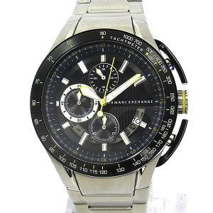 【アウトレット訳あり】アルマーニ エクスチェンジ 腕時計 AX1408 クロノグラフ ブラック ステンレス|pre-ma