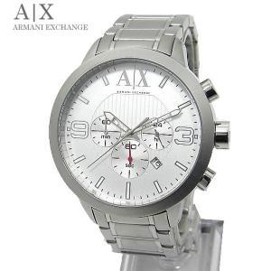 【展示品アウトレット】アルマーニ エクスチェンジ 腕時計 AX1278 クロノグラフ シルバー|pre-ma