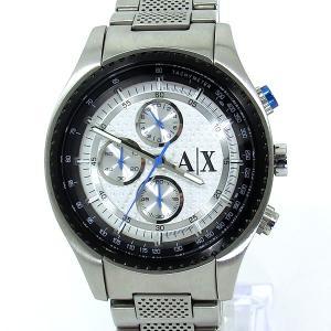 【展示品アウトレット】アルマーニ エクスチェンジ 腕時計 AX1602 クロノグラフ シルバー|pre-ma