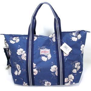 【アウトレット訳あり】キャスキッドソン 折り畳み式 バッグ ショルダー付 755405 Cath Kidston  Foldaway Overnight Bag|pre-ma