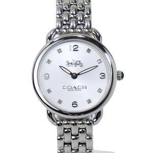 コーチ COACH  レディース腕時計 デランシー スリム 14502781  シルバー ステンレス【アウトレット展示品】|pre-ma