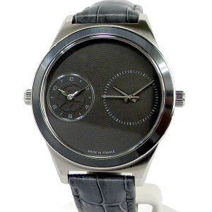 ハンティングワールド メンズ腕時計 HWD020GY ツインタイム フランス製 44mm グレー 正規品【新品アウトレット】|pre-ma
