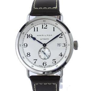 【アウトレット展示品】ハミルトン HAMILTON カーキ ネイビー パイオニア 腕時計 H78465553 自動巻  43mm pre-ma