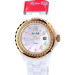 ルビンローザ レディース腕時計 ソーラー R305PWHMOP Rubin Rosa 土屋太鳳モデル  アウトレット|pre-ma