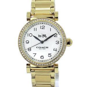 コーチ COACH  レディース腕時計 マディソン 14502397 イエローゴールド アウトレット展示用|pre-ma