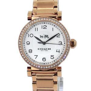 コーチ COACH  レディース腕時計 マディソン 14502398 ローズゴールド アウトレット展示用|pre-ma