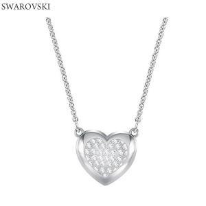 スワロフスキー SWAROVSKI  ペンダント ネックレス 5385009 HALL HEART シルバー【アウトレット特価】|pre-ma