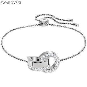 スワロフスキー SWAROVSKI  バングル ブレス 5373969 HOLLOW シルバー【アウトレット特価】|pre-ma