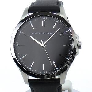 【アウトレット:付属品欠品】アルマーニ エクスチェンジ 腕時計 AX2149 48mm ブラックレザー ARMANI EXCHANGE|pre-ma